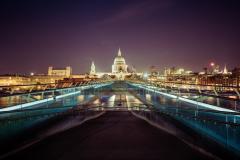 A Nightwalk in London, UK