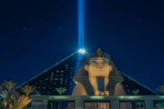 The Luxor Hotel in Las Vegas, USA