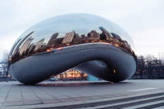 The Bean in Chicago, USA