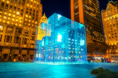 Apple Store in New York, USA