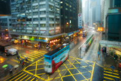 An Intersection in Hongkong